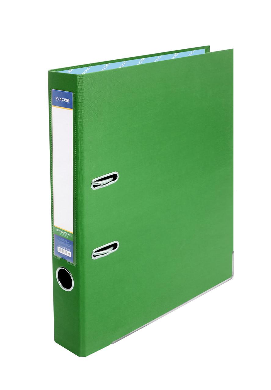 Папка регистратор А4 Economix 50 мм зеленая