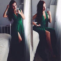 Платье женское длинное  6082