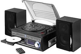 Грамофон-проигрыватель с функцией CD MP3 и RADIO