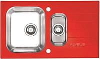 Кухонная мойка Alveus GLASSIX 20 RED