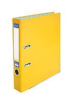 Папка регистратор А4 Economix 50 мм желтая