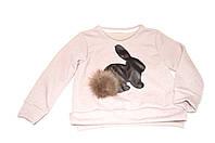 Свитшот «Кролики» розовый , фото 1