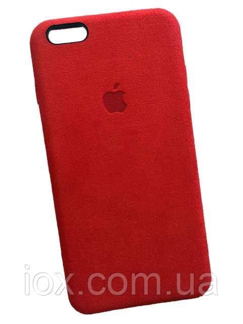 Замшевый чехол-накладка Alcantara для iPhone 6/6s Plus