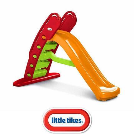 Детская складная горка  Little Tikes 172472 180 см оранжевая, фото 2