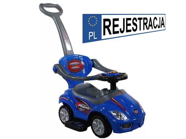 DELUXE MEGA CAR 3 в 1 ходунки, толкач
