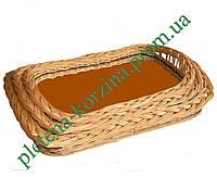 Набор плетеных подносов из 3 шт. Арт.590-3