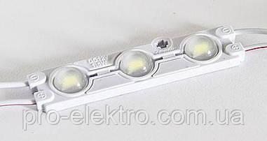 Светодиодный модуль (smd5730 3шт, 66мм) # 94 MTK-5730-3Led-W-1,5W Белый