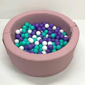 Сухой бассейн круглый, фото 2