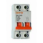 Автоматический выключатель ВА 1-63; 4,5кА 2 ПОЛЮСА тип С