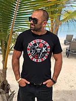 Мужская стильная футболка «CRIMINAL»