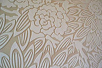 Трафарет для стен в технике выпуклого рисунка на краске, фото 1