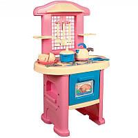 """Детская кухня 3039  """"ТехноК"""" №4 в коробке 58-48-15 см, розовая"""