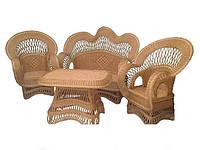 """Плетеной набор мебели """"Королевский"""""""