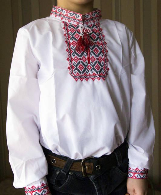"Вышиванка ""Школяр"" для мальчиков KRAYKA"