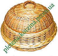 Хлебница круглая из лозы Арт.437н