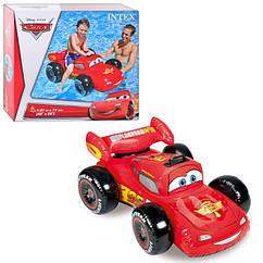Надувной плотик Тачки для детей от 3х лет, Intex 58576