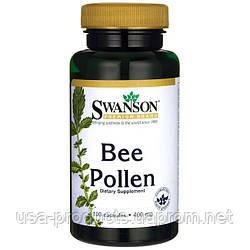 Пчелиная пыльца в капсулах США 400 мг 100 капсул