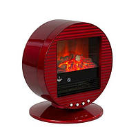 Электрический камин El Fuego Mannheim красный