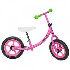 Детский двухколесный беговел Profi Kids, M 3437-2 розовый