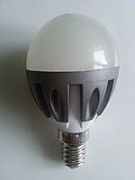 Лед лампа шар G45 5w E14 3000К 220v spark