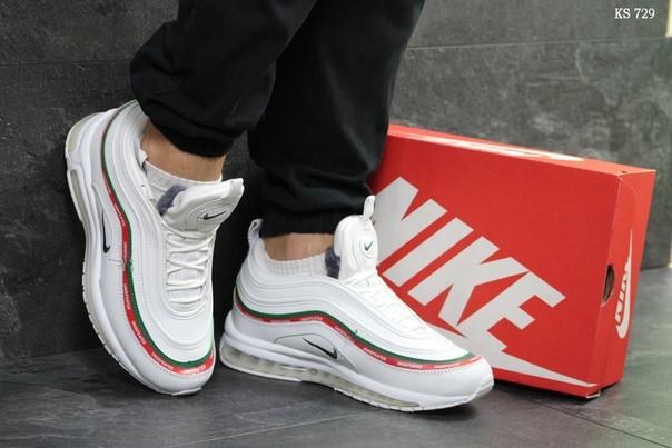 Зимние кроссовки Nike 97 (белые)