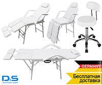 Педикюрное кресло + стульчик мастера Германия косметологическая кушетка