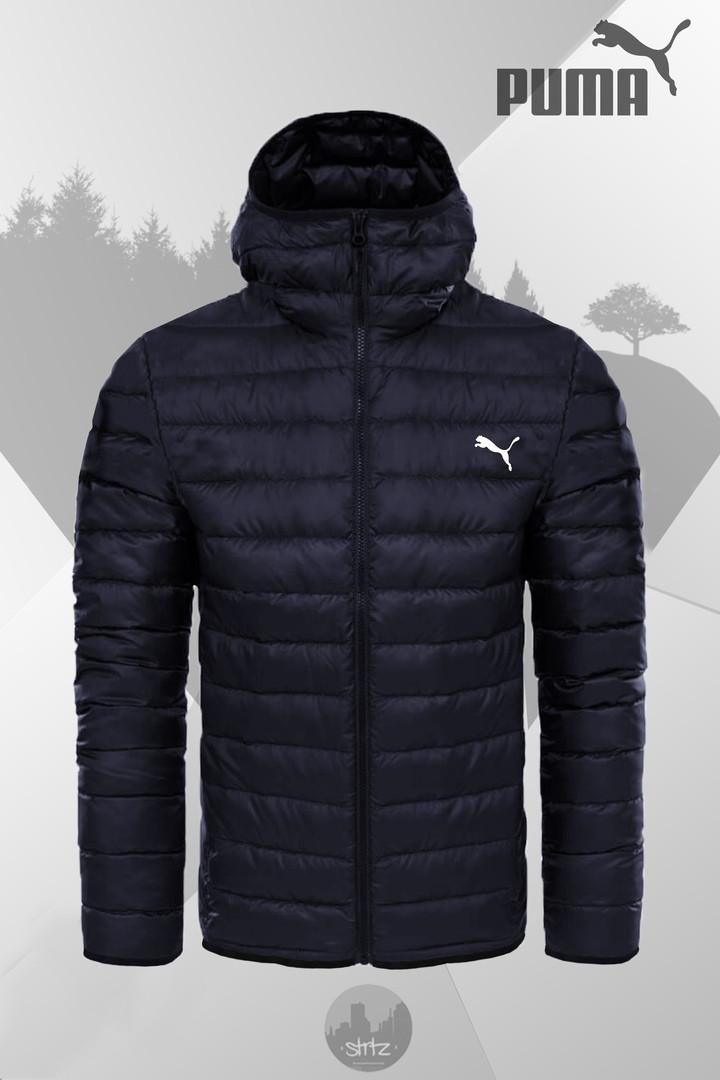 98bc037b99e1 Зимняя куртка Winter Hooded Down Jacket PUMA (темно синяя)  продажа ...