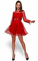 Красивое новогоднее платье Брайни (42-48 в расцветках)