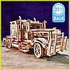3 Д Конструктор тягач (Big Rig) подарок из дерева 3 D