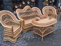 """Плетеный набор мебели """"Вышитый"""""""