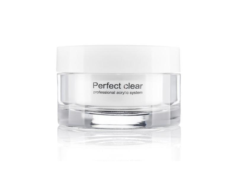 Базовая акриловая пудра прозрачная Perfect Clear Powder 40г