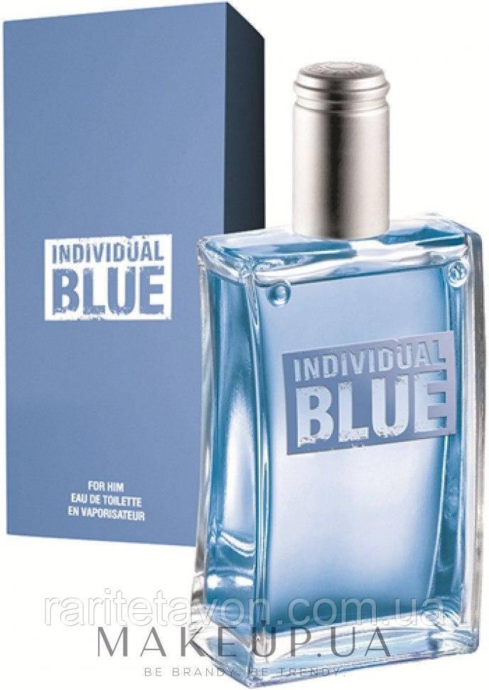 туалетная вода Individual Blue Avon 100 мл мужские духи индивидуал