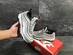 Зимние кроссовки Nike 97 (серебряные), фото 3