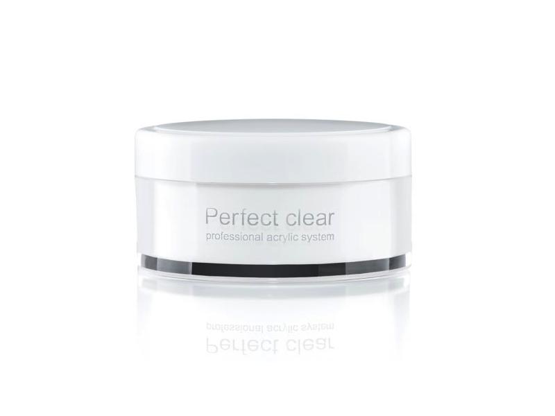Базовая акриловая пудра прозрачная Perfect Clear Powder 22 гр