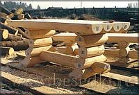 Изделия из дерева ручной работы, деревянная мебель для сада, столы и стулья.