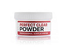 Базовая акриловая пудра прозрачная Perfect Clear Powder 60г
