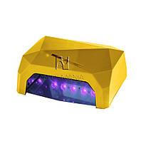УФ LED+CCFL лампа (таймер 10, 30, 60сек) 36 Вт (золотая)