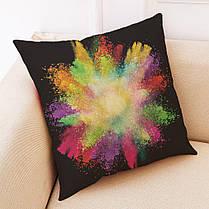 45x45cmЦветнойэлементРоскошнаяподушкаКрышка Graffi Style Throw Pillow Чехол Подушки 1TopShop, фото 3