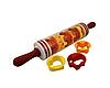 Скалка для теста с формами для выпечки Roll and Store Pin