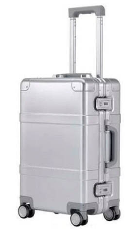 "Чемодан Xiaomi RunMi 90 Points Smart Metal Suitcase Silver 20"" (XNA4026RT)"