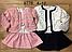 Набор-двойка с начесом для девочек, Венгрия, F&D, арт. 9776, фото 4