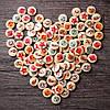 100PCSOceanКруглыйШаблонДеревянная кнопка Mixed 2 Hole Natural Sewing Handmade Clothes Кнопки 1TopShop, фото 2