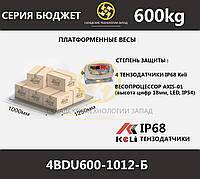 Весы платформенные низкопрофильные 4BDU600-1012-Б, фото 1