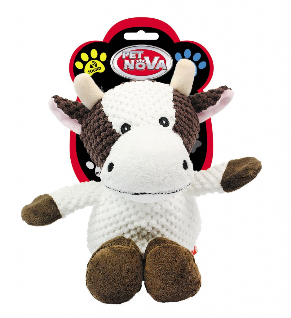 Игрушка для собак Коровка Pet Nova 32 см