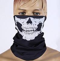 Баф с черепом. Разные цвета рисунка (Б-1002)
