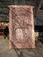 Изделия из дерева ручной работы, ексклюзивные деревянные двери под старину, под индивидуальный заказ