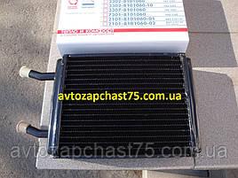 Радиатор печки Газ 2410, 3102, 3110 медно-латунный, d=16 мм (производитель ШААЗ, Россия)