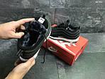 Зимние кроссовки Nike 97 (черно-белые) , фото 3