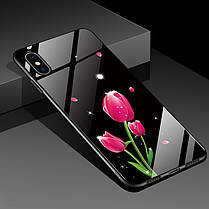 BakeeyМодаШаблонЗакаленноестеклоЗащитная Чехол Для iPhone XS Макс. 1TopShop, фото 3