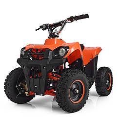 Детский электрический квадроцикл Profi HB-EATV 800M-7, оранжевый